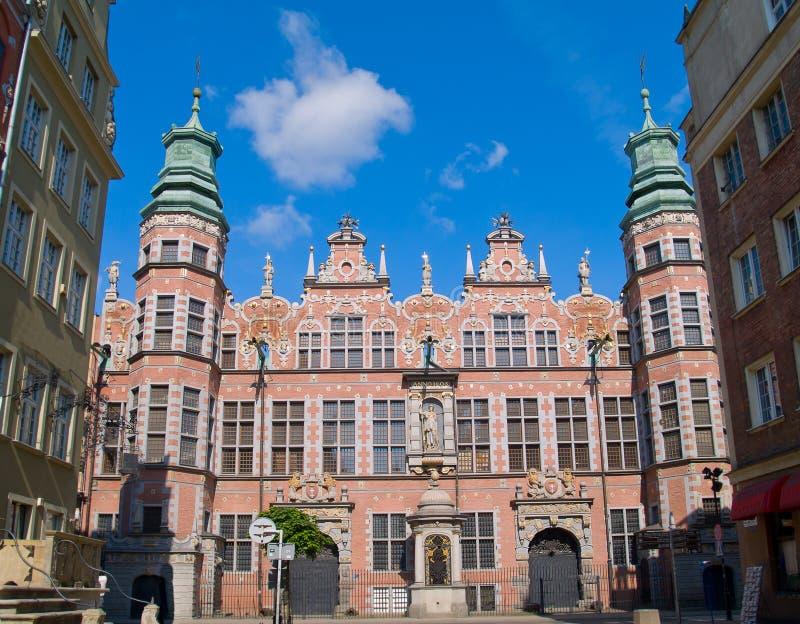 Grande arsenal Gdansk, Poland fotos de stock royalty free
