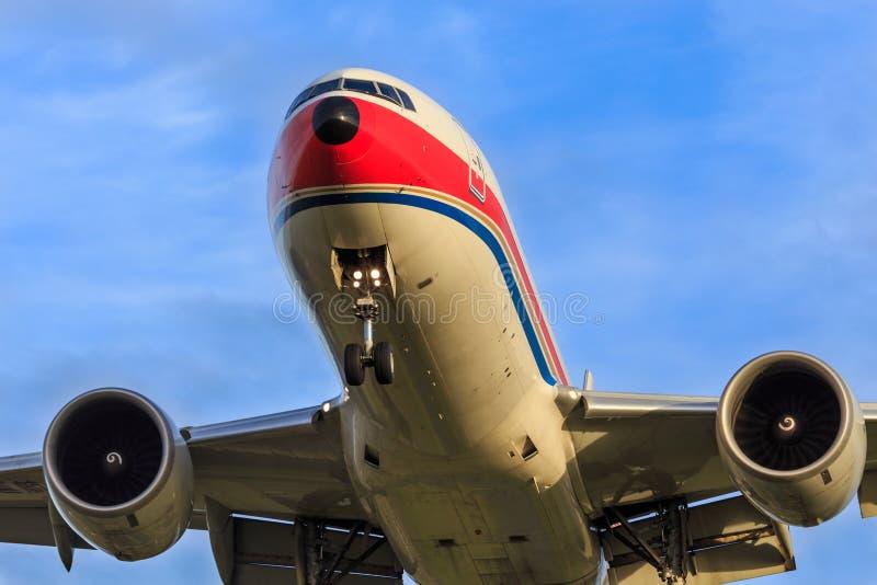 Grande avion de ligne photos stock