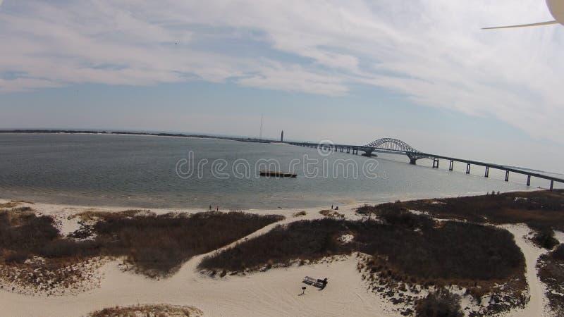 Grande baia del sud Long Island fotografie stock libere da diritti