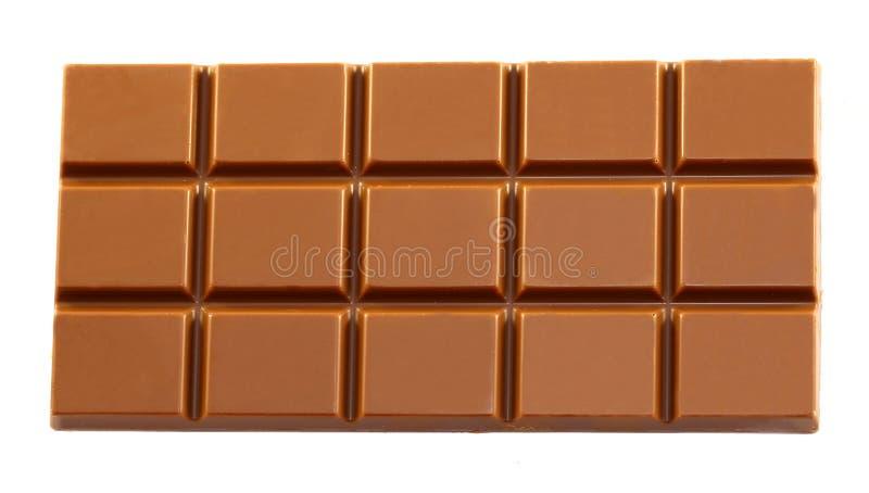 Grande barre de chocolat savoureuse photo stock