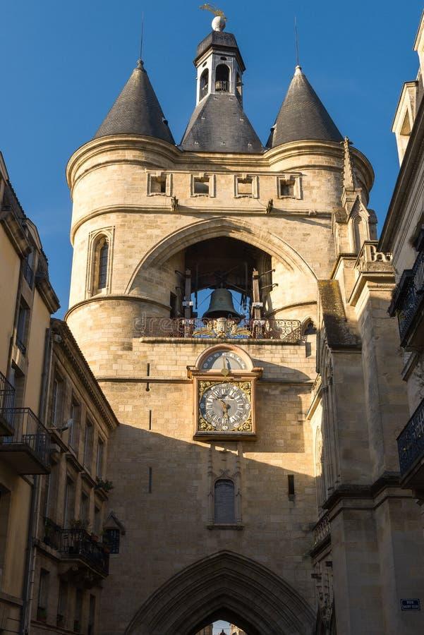 Grande Bell do Bordéus, Aquitaine, França foto de stock