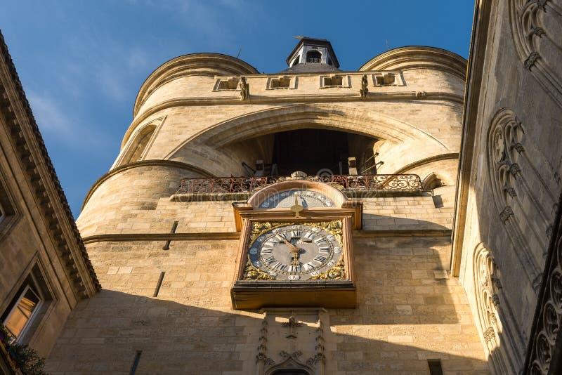 Grande Bell do Bordéus, Aquitaine, França imagens de stock royalty free