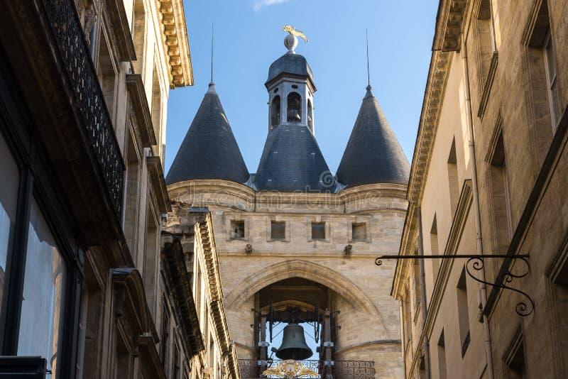 Grande Bell do Bordéus, Aquitaine, França imagens de stock