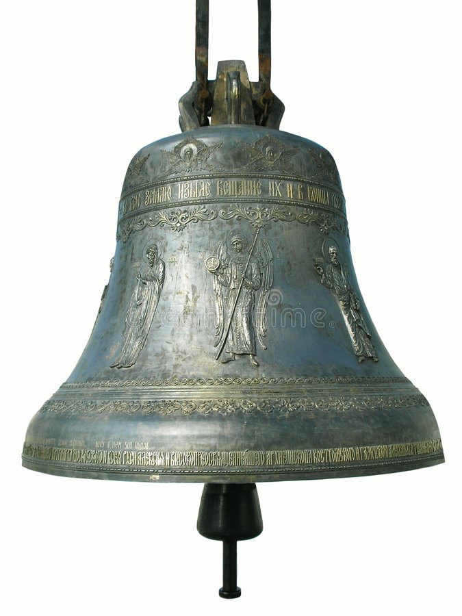 Grande Bell religieuse images stock