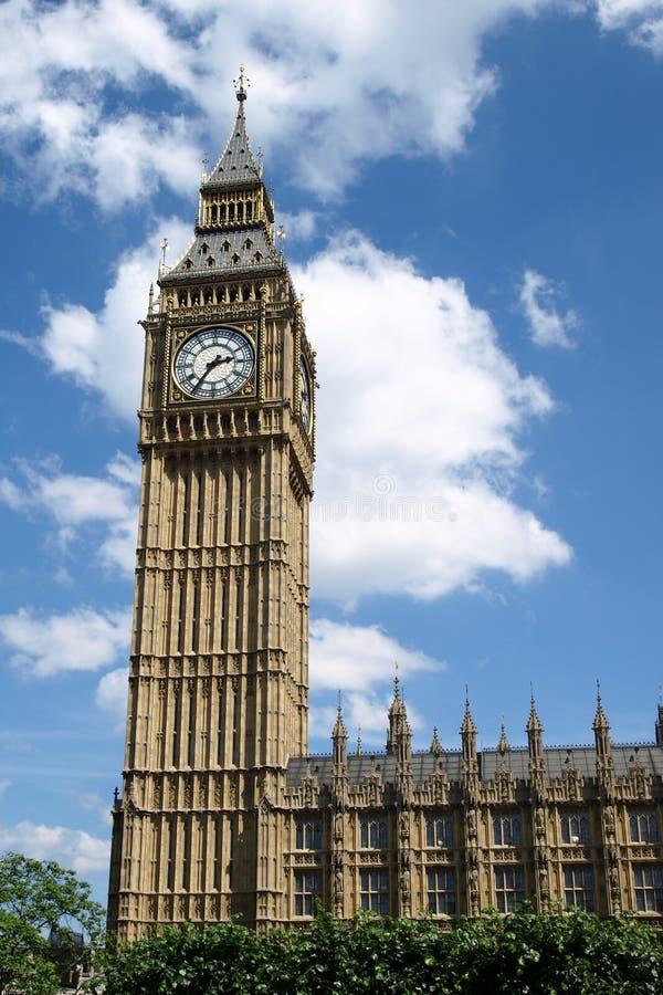 Grande Ben e le Camere del Parlamento fotografie stock libere da diritti
