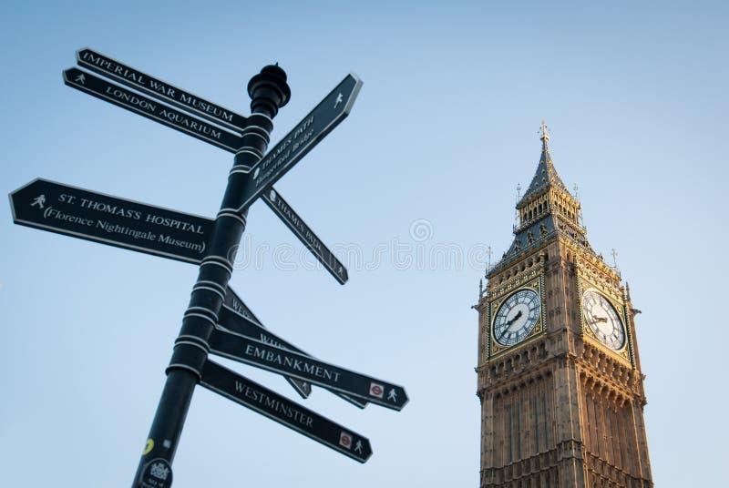 Grande Ben a Londra immagine stock libera da diritti