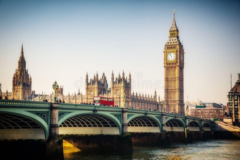 Grande Ben a Londra fotografie stock libere da diritti