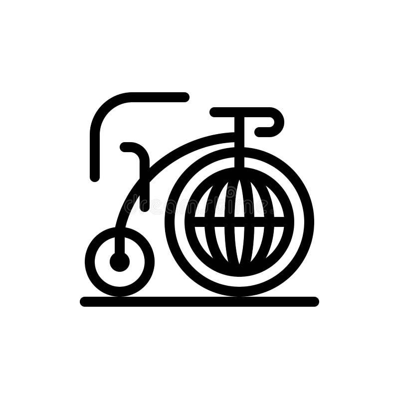 Grande, bici, sogno, blu di ispirazione e download rosso ed ora comprare il modello della carta del widget di web royalty illustrazione gratis
