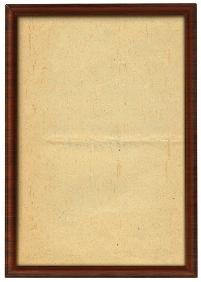 Grande blocco per grafici di legno fotografia stock libera da diritti