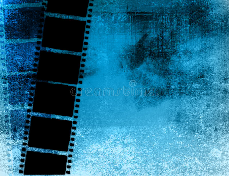 Grande blocco per grafici di pellicola illustrazione di stock