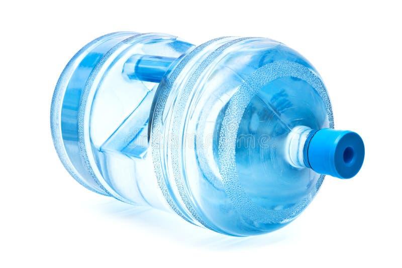 Grande bottiglia di acqua immagine stock