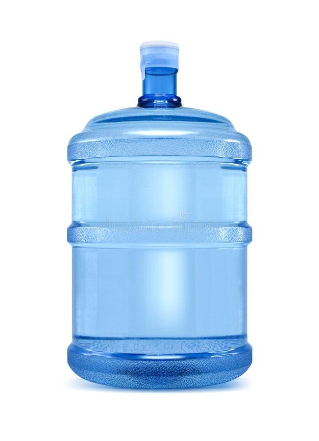 Grande bottiglia di acqua fotografie stock libere da diritti