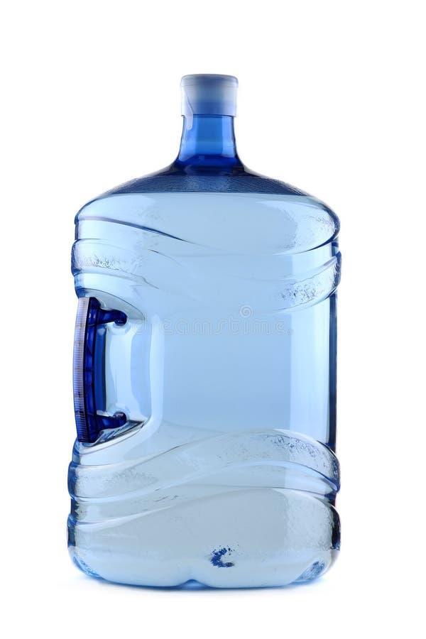 Grande bottiglia per il dispositivo di raffreddamento di acqua fotografia stock