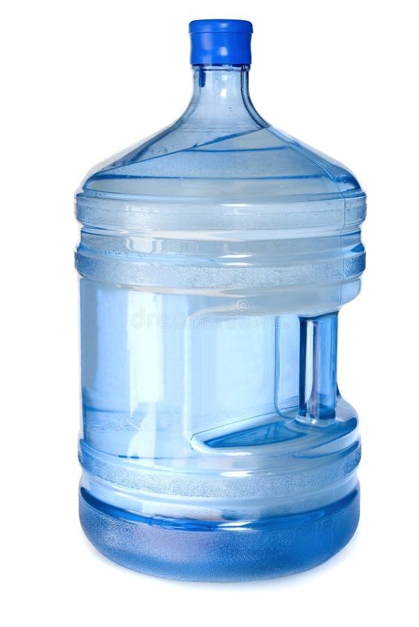 Grande bottiglia per il dispositivo di raffreddamento. immagine stock libera da diritti