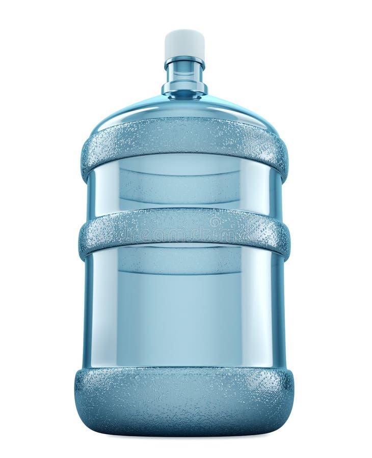 Grande bouteille d'eau images stock