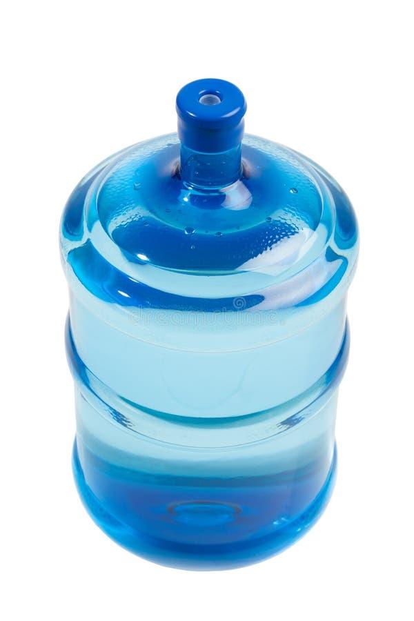 Grande bouteille de l'eau photo libre de droits