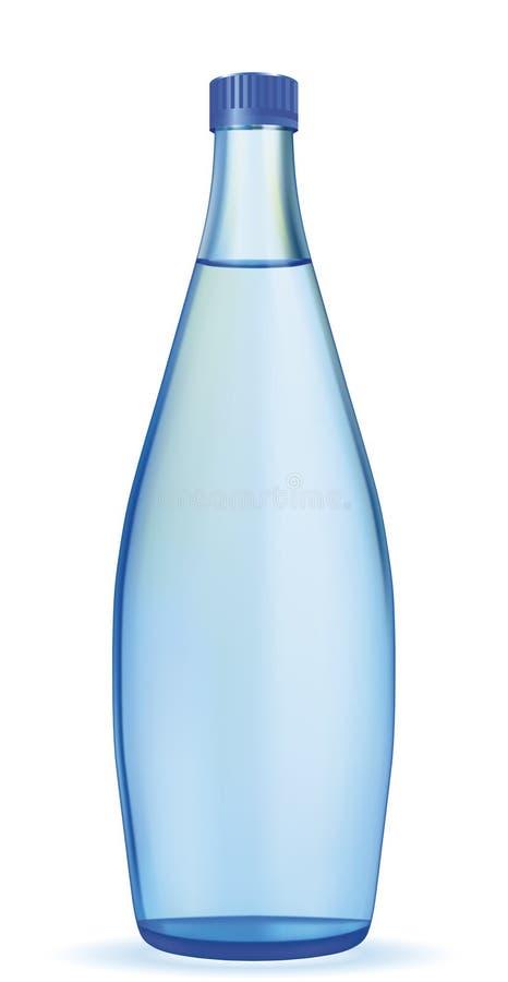 Grande bouteille de l'eau illustration stock