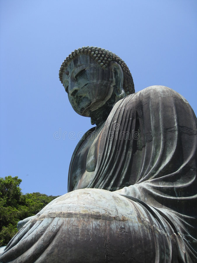 Grande Buddha imagens de stock royalty free