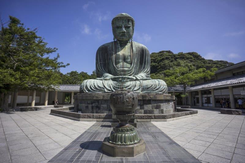 Grande Buddha de Kamakura (Daibutsu) fotografia de stock