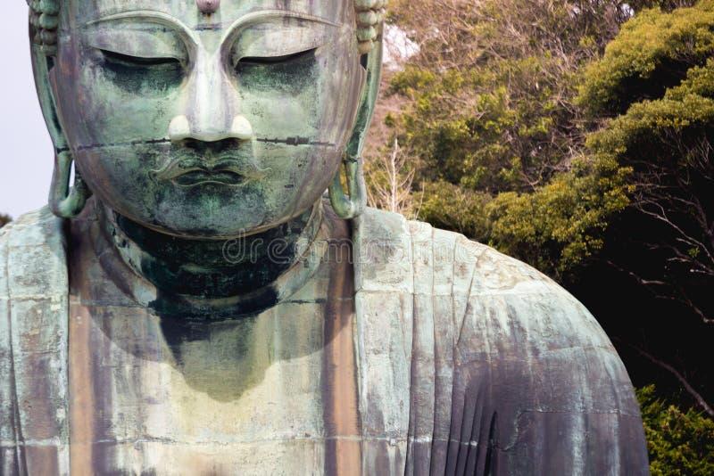 Grande Buddha a Kamakura immagini stock