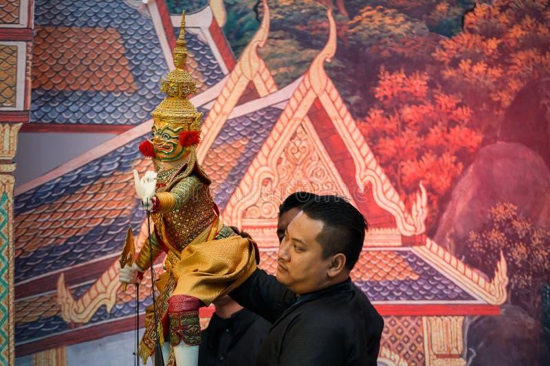 Grande burattino tradizionale tailandese fotografie stock