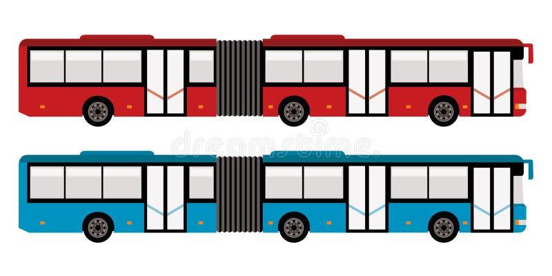 Grande bus della città illustrazione di stock