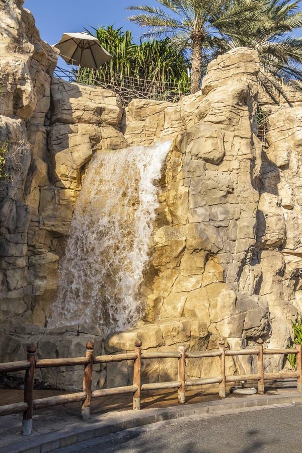 Grande cachoeira decorativa imagem de stock royalty free