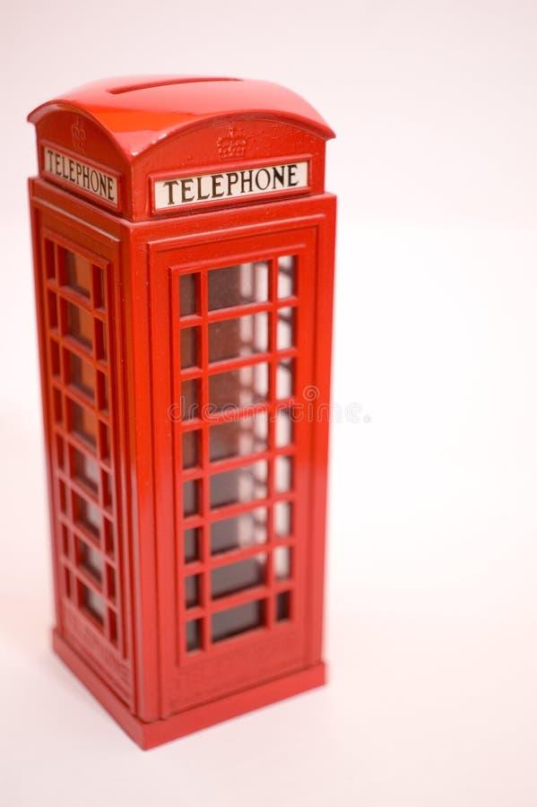 Grande caixa de telefone de Britan fotografia de stock