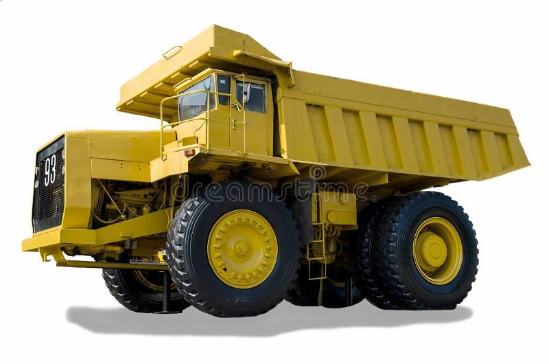 Grande caminhão do reboque imagens de stock royalty free