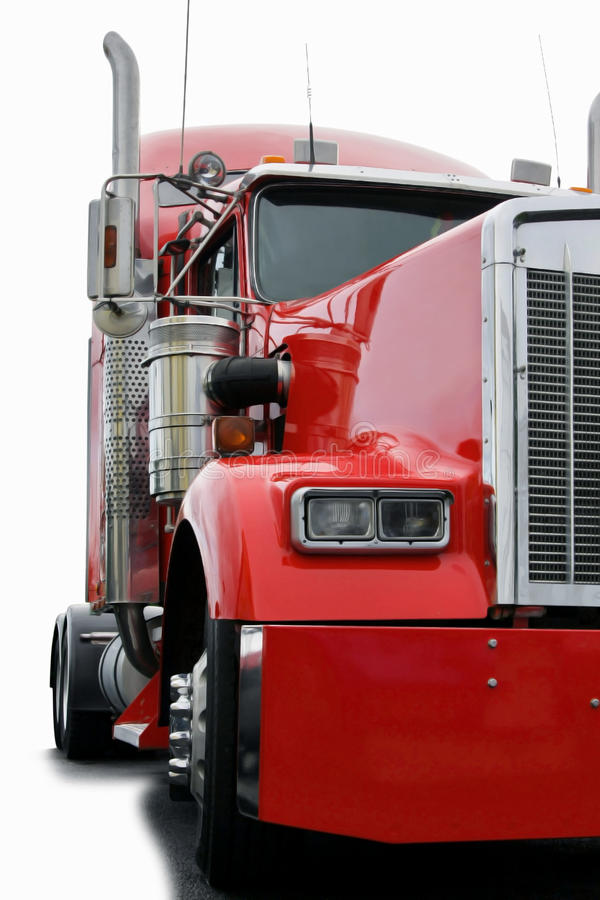 Grande camion fotografia stock