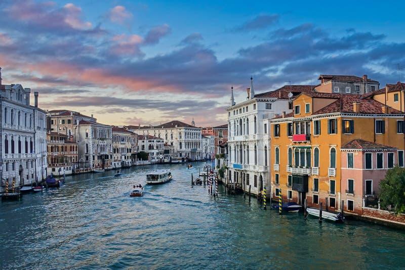 Grande Canal em Veneza imagens de stock royalty free