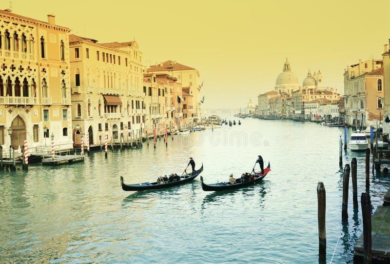 Grande canale di Venezia immagine stock