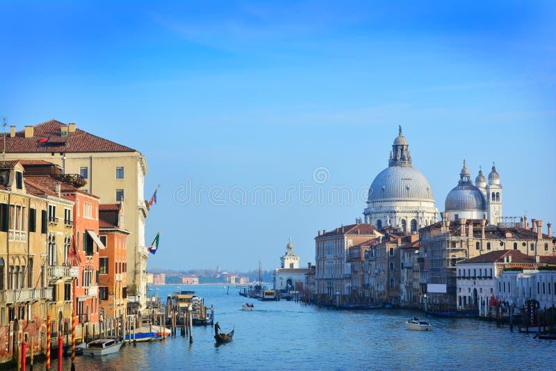 Grande canale, Venezia immagine stock libera da diritti