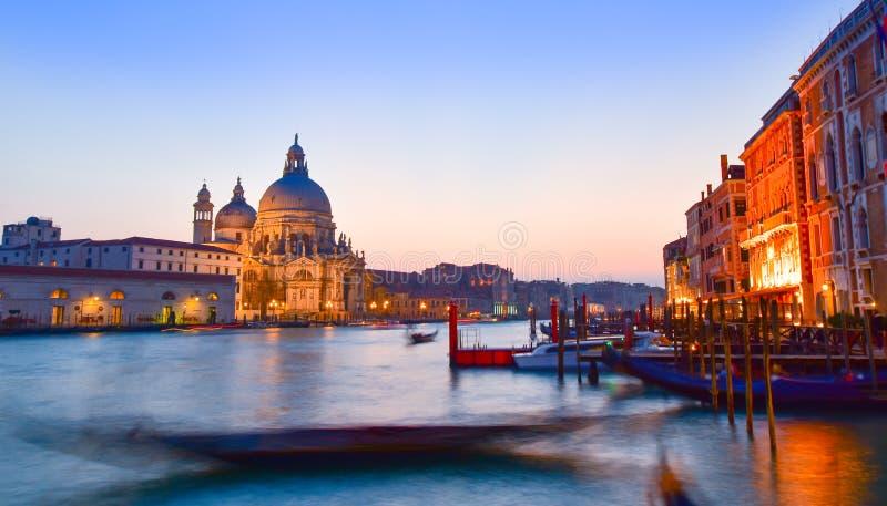 Grande canale, Venezia immagini stock