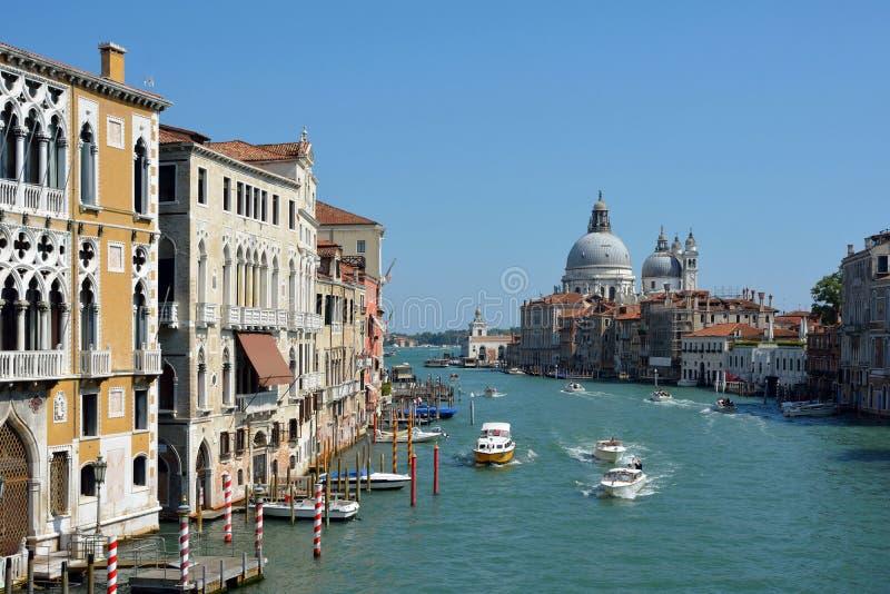 Grande canale Venezia - in Italia immagini stock