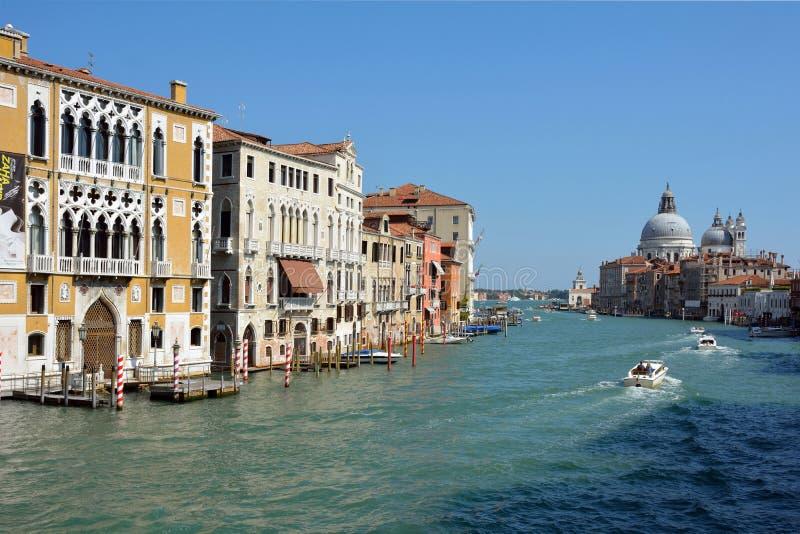 Grande canale Venezia - in Italia fotografia stock libera da diritti
