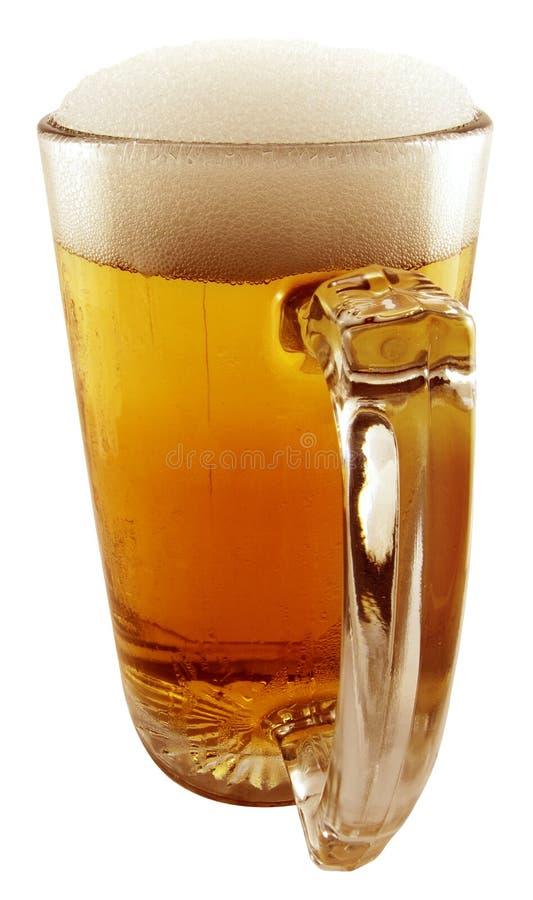 Grande caneca de cerveja foto de stock