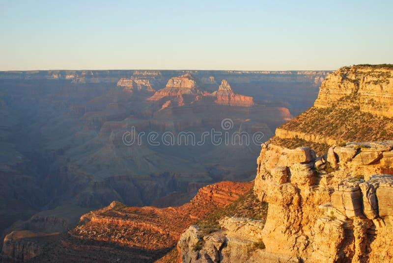 Grande canyon al crepuscolo immagini stock