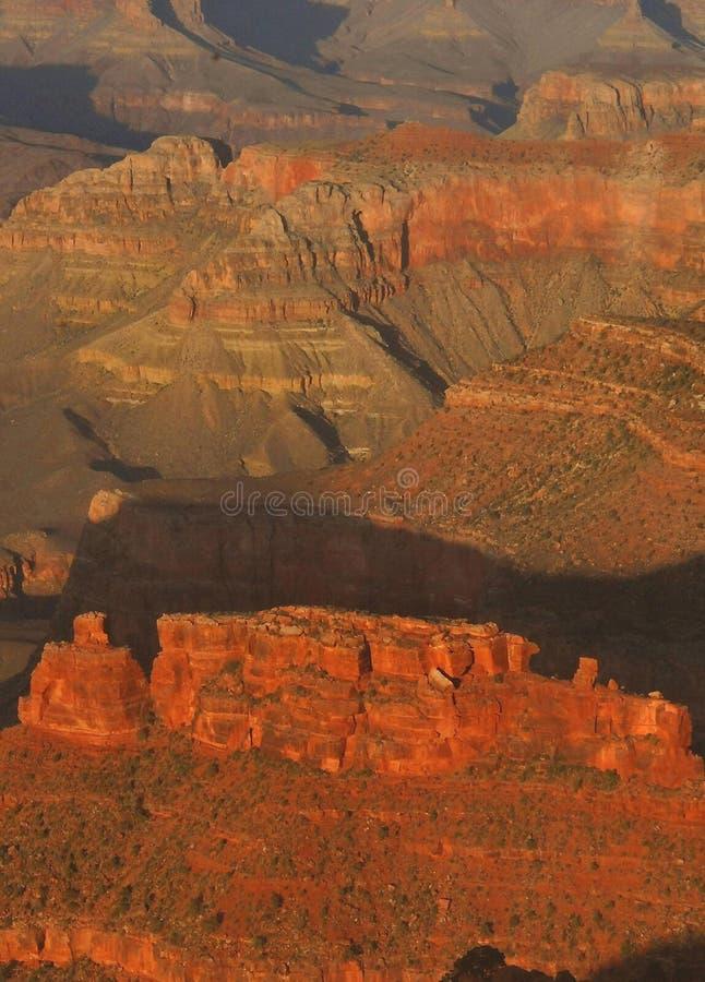 Grande canyon dal punto del Hopi fotografie stock libere da diritti