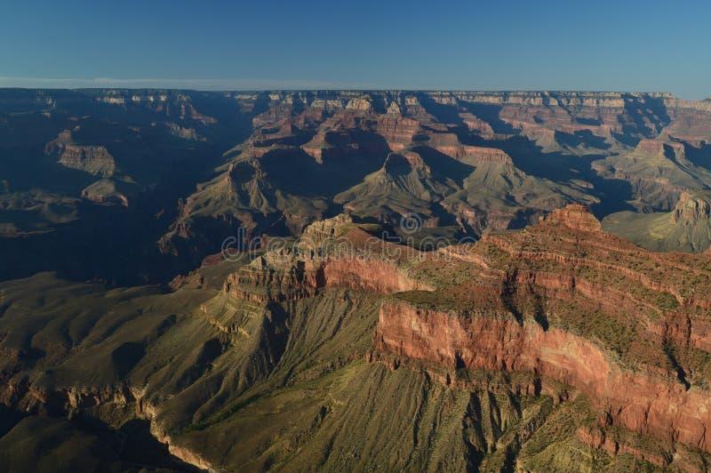Grande canyon del fiume di colorado E Formazioni geologiche fotografie stock libere da diritti