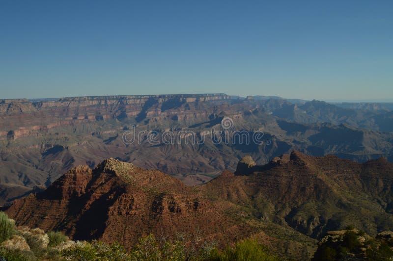 Grande canyon del fiume di colorado Formazioni geologiche immagini stock