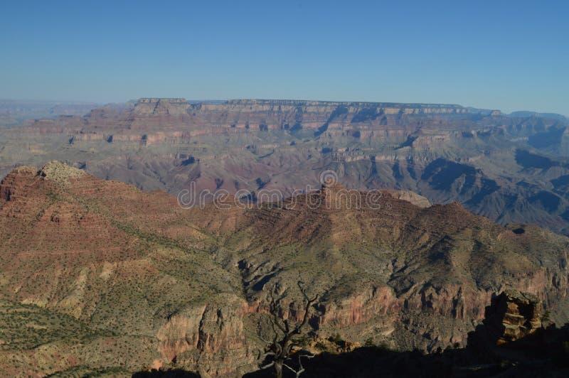 Grande canyon del fiume di colorado Formazioni geologiche immagini stock libere da diritti