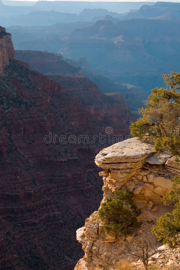 Grande canyon NP immagini stock
