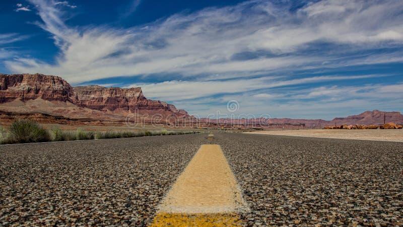 Grande Canyon Road 3 immagine stock libera da diritti