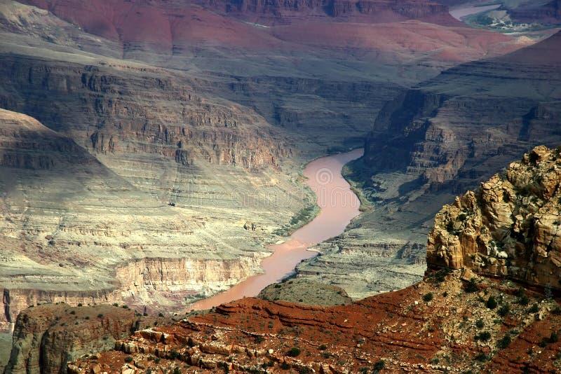 Grande canyon scenico fotografia stock
