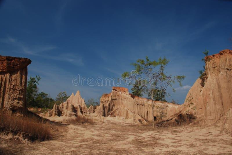 Grande canyon Tailandia immagine stock libera da diritti