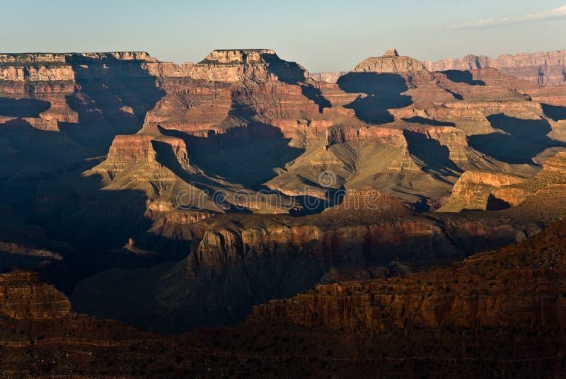 Grande canyon veduto dall'orlo del sud immagini stock libere da diritti