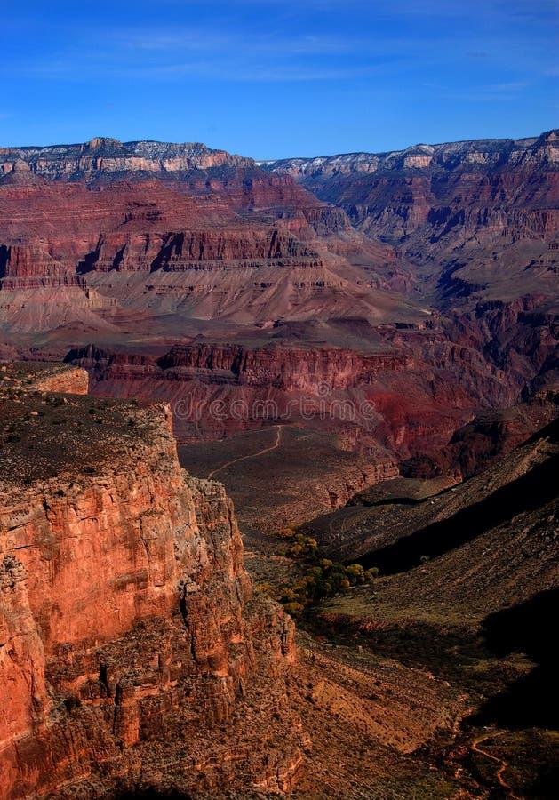 Grande canyon, vista del giardino indiano fotografia stock libera da diritti