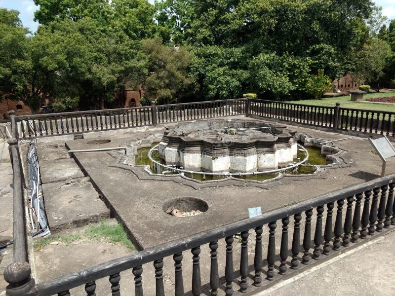 Grande casa hindu de Peshwa do guerreiro do interior fotografia de stock royalty free