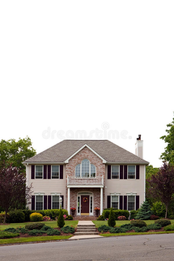 Grande casa luxuosa foto de stock royalty free
